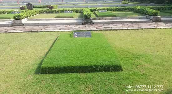 Foto makam tipe single burial (standar) san diego hills